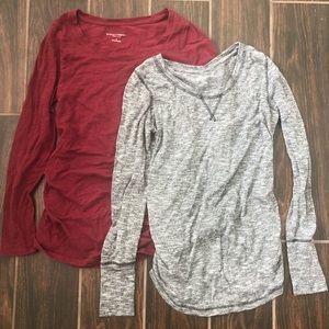 Liz Lange Maternity Long Sleeve Bundle